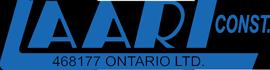 Laari Construction Logo